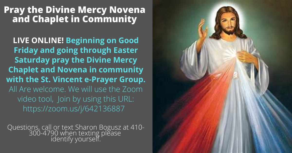Online Divine Mercy Novena